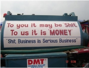 DMT Mobile Toilet's motto