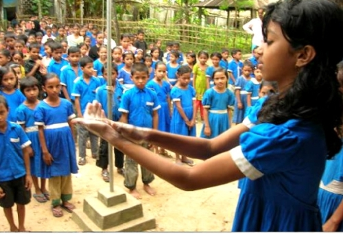 Global Handwashing Day, Bangladesh