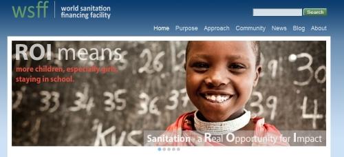 WSSG web site screenshot