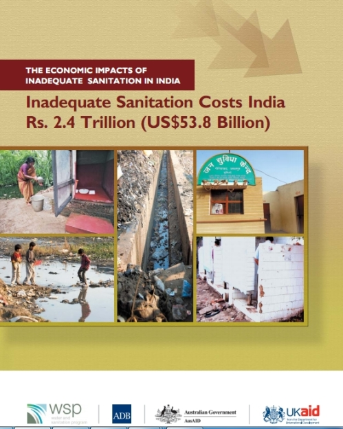 Cover WSP report Economic Impacts Sanitation India