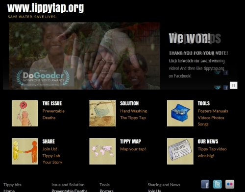 Tippy Tip web site
