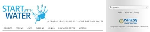 WASRAG web logo
