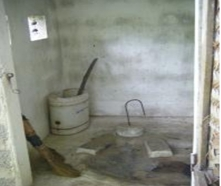 Inside composting toilet in central Viet Nam village