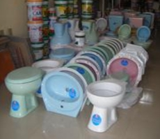 Modern ceramics for sale in the same area