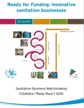 Ready for Funding: Innovative  sanitation businesses cover