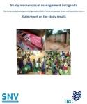 Cover MHM study Uganda