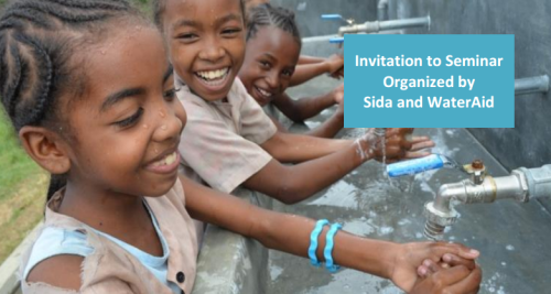 Sida-WaterAid-WTD-Seminar