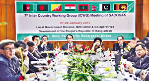 7th inter-country working group (ICWG) meeting of SACOSAN, 27 Jan 2015.