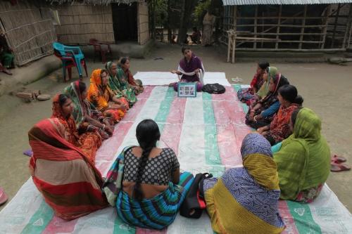 Cluster meeting in Derboalia Village