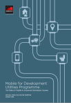 The role of mobile in improved sanitation access - cover