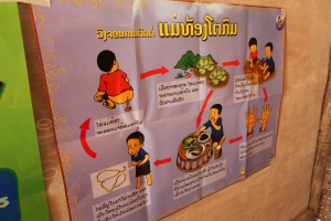 """Open Defecation Signage"" credit to Plan International/Alf Berg"