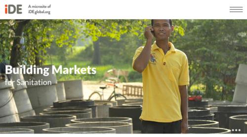 Sanitationmarkets.ideglobal.org