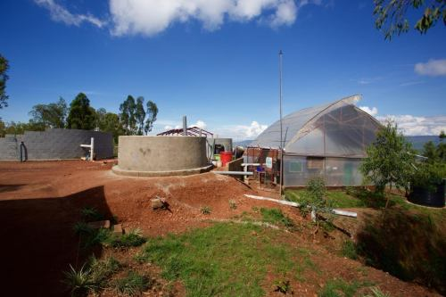 Rwanda  - Pivot fecal sludge treatment 1