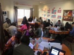 Photo: IPS, from a market development workshop in Senegal February 2017